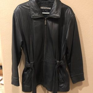 Kenneth Cole Reaction Jackets & Coats - Kenneth Cole Leather Jacket
